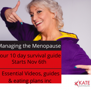 NEW -Managing Your Menopause-10 Day Survival Guide