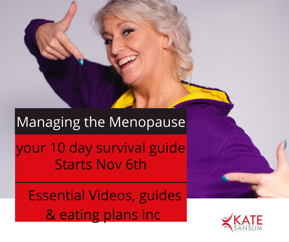 Managing the Menopause- a survival guide