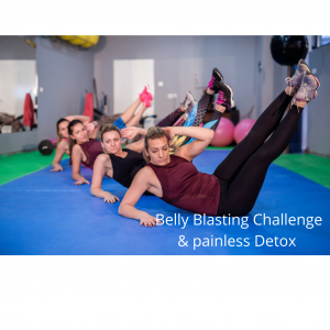 7 Day Belly Blaster Challenge & Painless Detox
